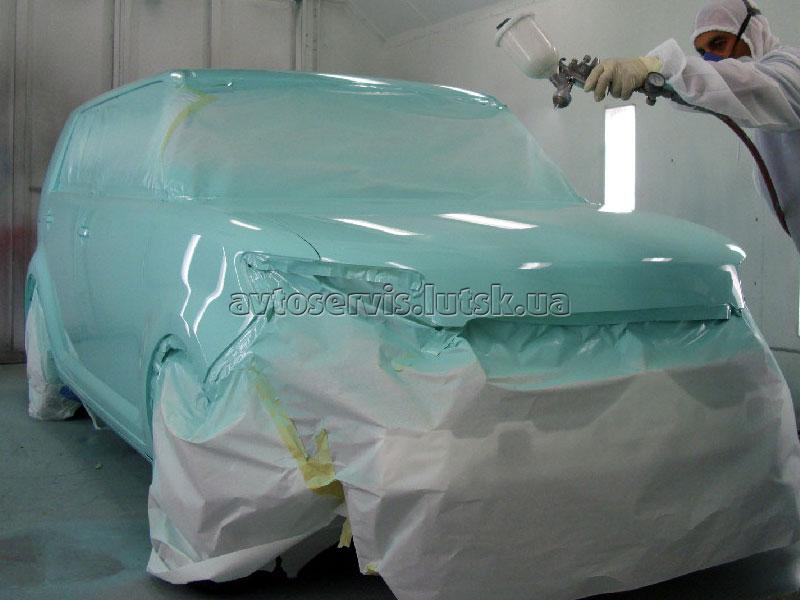 фарбування авто в луцьку