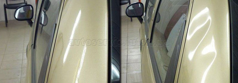 рихтовка авто без фарбування